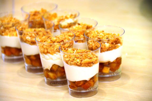 קינווח לשבועות תפוחים קצפת וקראמבל פוליבה Poliva shavuot apple dessert