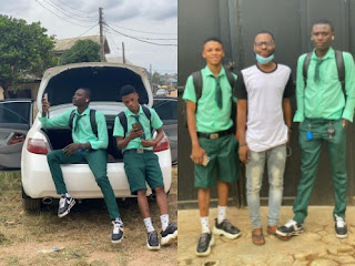 SS3 Boys Resume School With iPhone And Benz After Making Money During Lockdown