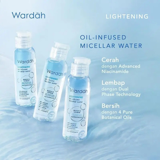 Micellar Water Wardah - Wardah oil infused micellar water
