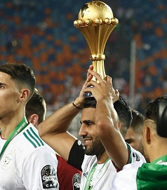 FIFA most surprising team as Algeria won the African Cup of nations 2019 in 29 years