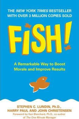 make work productive and interesting -fish