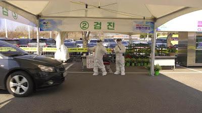 Bilik Drive Thru Korea Selatan