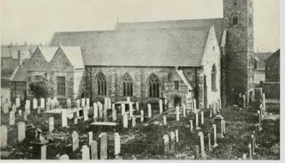Climbing My Family Tree: St. Peters Church & Monkwearmouth Monastery, built 675 AD. Public Domain.