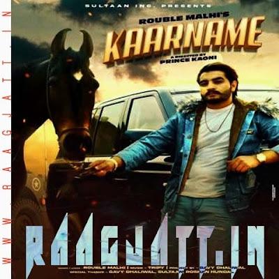 Kaarname by Jass Dhaliwal Ft Rouble Malhi lyrics