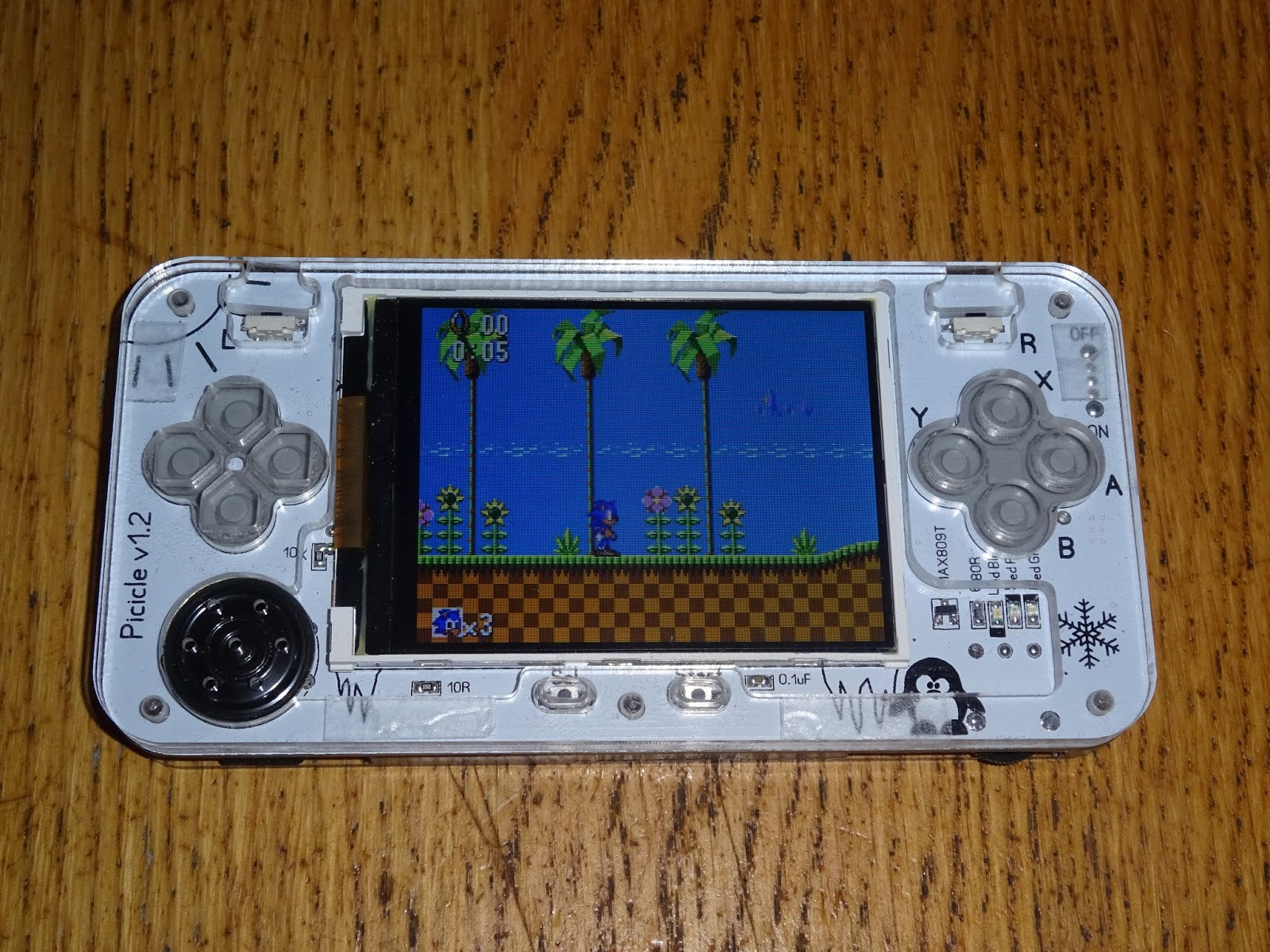 Tynemouth Software: Picicle Build - Handheld RetroPie Console
