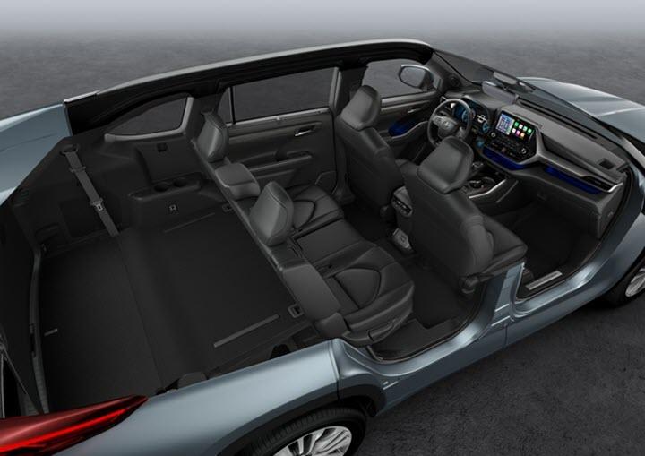 Toyota Highlander 2021 phiên bản châu Âu lộ diện, động cơ hybrid 2.5L