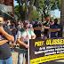 Sem poder trabalhar, Donos de bares fazem manifestação em frente a Prefeitura e Câmara Municipal de Maringá.