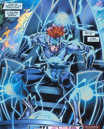 Wally West se ha unido a la silla Mobius y al poder del Doctor Manhattan