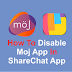 How To Disable Moj In Sharechat App - 2021 | MXTakatakMX