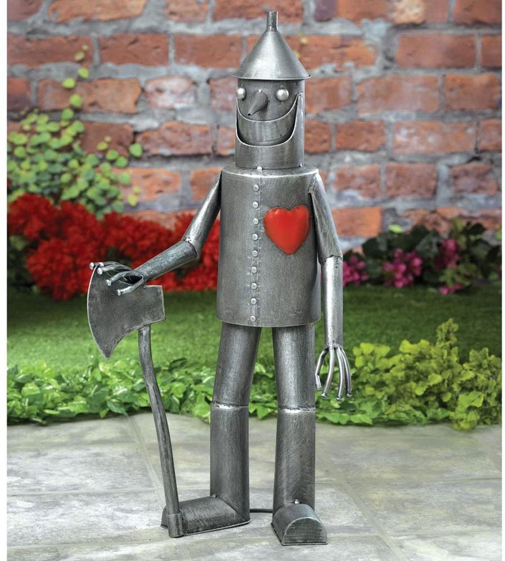 tin woodman sculpture