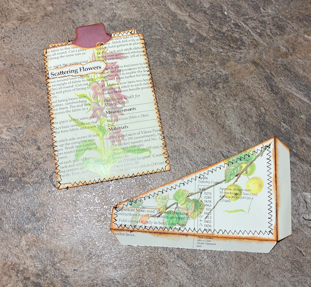 Junk Journal Pockets & Tags Using Edith Holden Images Part 2