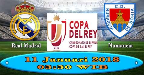 Prediksi Bola855 Real Madrid vs Numancia 11 Januari 2018