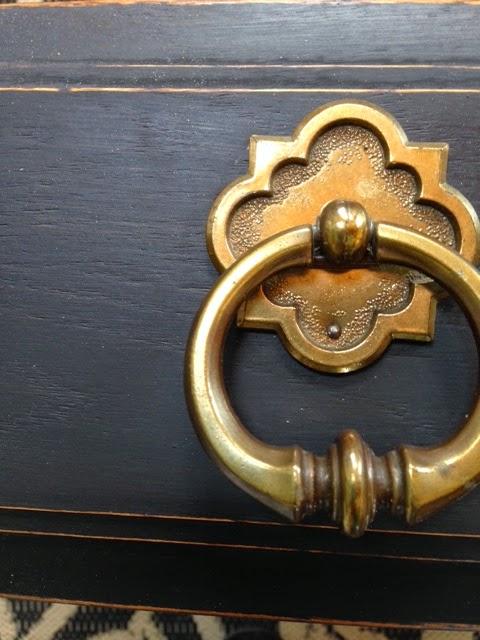 knob with hemp oiled paint
