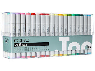 Copic Sketch markers