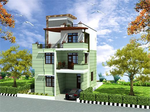 Wai Pune Triplex House Design