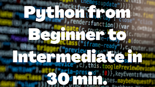 Best free Online Python Course for Beginners