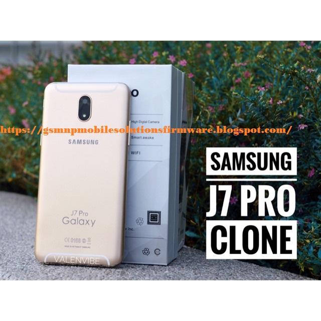 MT6580 Samsung Galaxy J7 Pro Clone SM-J7 Pro 100% Tested Firmware