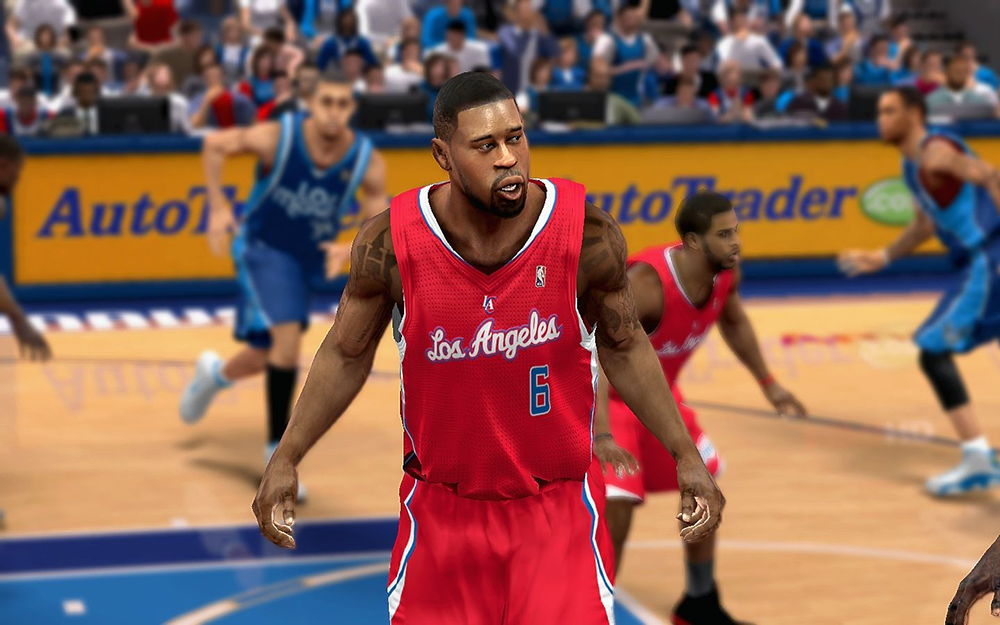 NBA 2K14 DeAndre Jordan Cyberface Patch