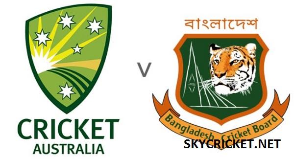 Bangladesh v Australia Test Series 2017