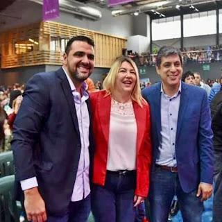 Bertone confiada en ser electa diputada