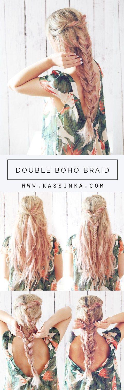 cute summer braid idea