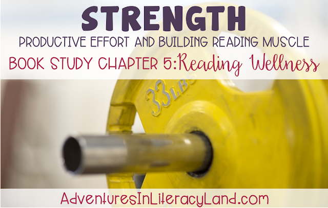 "Reading Wellness Book Study:  Read about how Jan Burkins and Kim Yaris explain the 4 different ""weights of texts"" and how these texts grow us as readers."