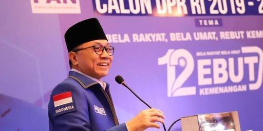 Penolakan Amien Rais kepada Zulkifli Hasan dan Sinyal Merapatnya PAN ke Jokowi