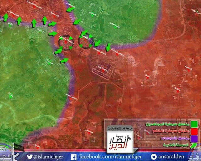 mujahidin bebaskan blokade di Aleppo