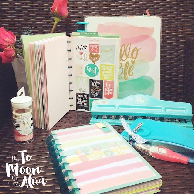 todo el kit de mi happyplanner