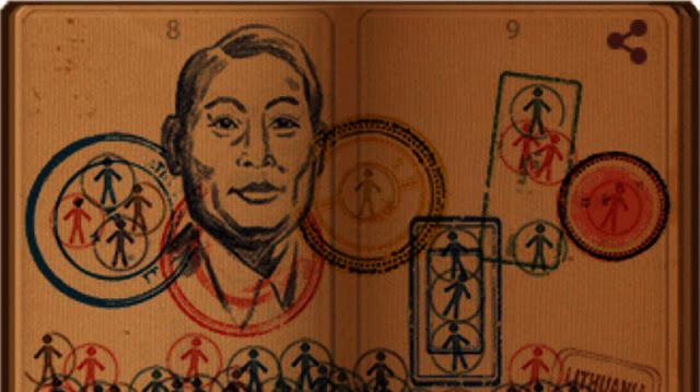 Chiune Sugihara from Google Doodle