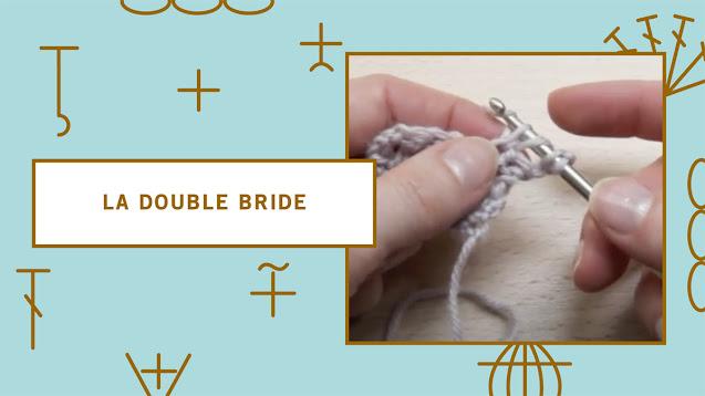 comment faire une double bride au crochet