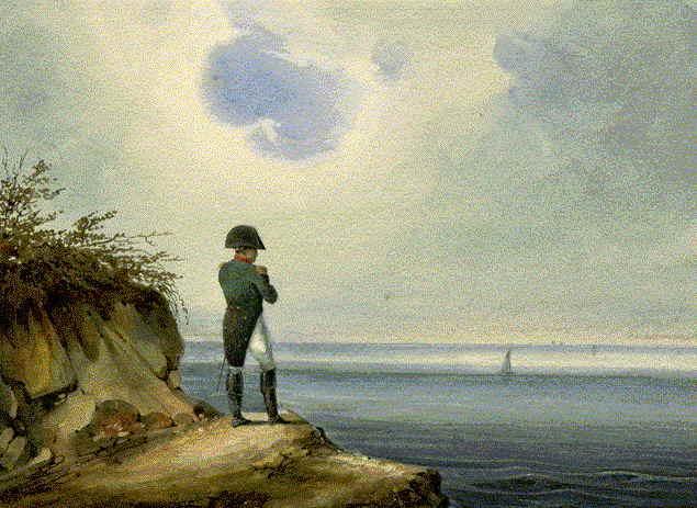 Simplício Dias à espera de Napoleão Bonaparte na praia da Pedra do Sal | por Pádua Marques