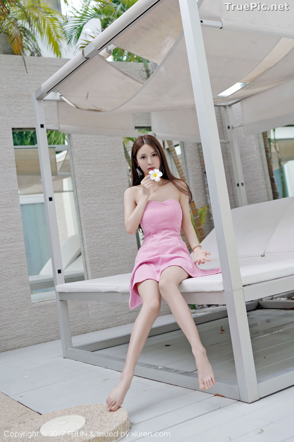 Image FEILIN Vol.105 - Chinese Pretty Model - Zhang Jing Yan (luna张静燕) - TruePic.net - Picture-5