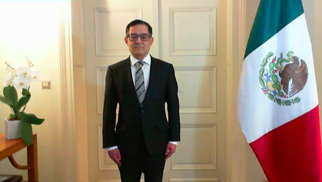 Senado de la República ratifica a dos embajadores y un cónsul general de México en el exterior