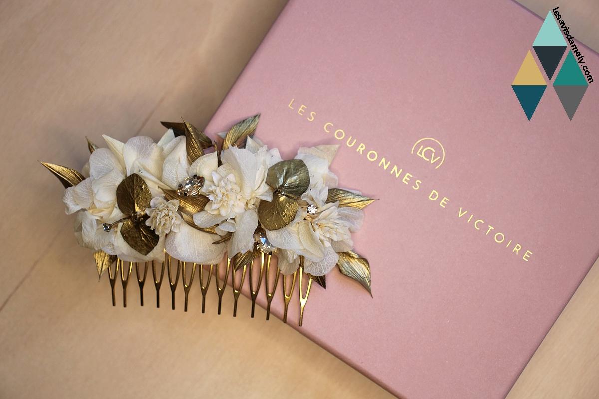 revue beauté peigne fleurs stabilisées naturelles LCV