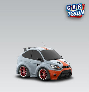 Ford Focus RS500 2010 Gulf style
