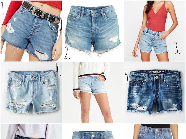 Denim Shorts For Summer Around $50