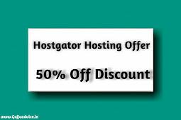 Hostgator Hosting Offer 50% Off Discount - hostgator coupons