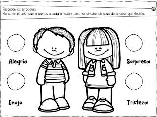 cuadernillo de emociones para niños pdf