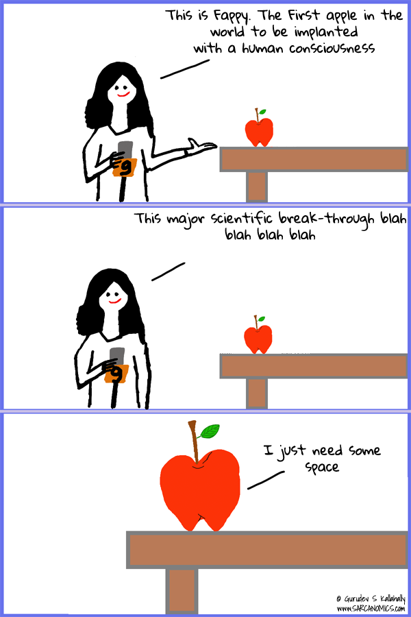 Fappy the human apple