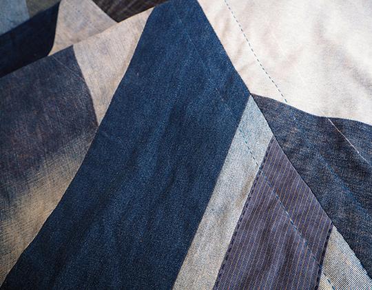 Blue Giant quilt in progress