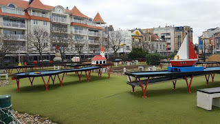 Leopoldpark Snookergolf course in Blankenberge
