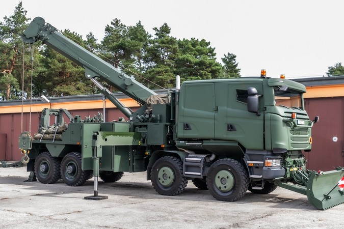 Scania 8x8 militar: Conheça em detalhes o braço direito do Exército Polonês