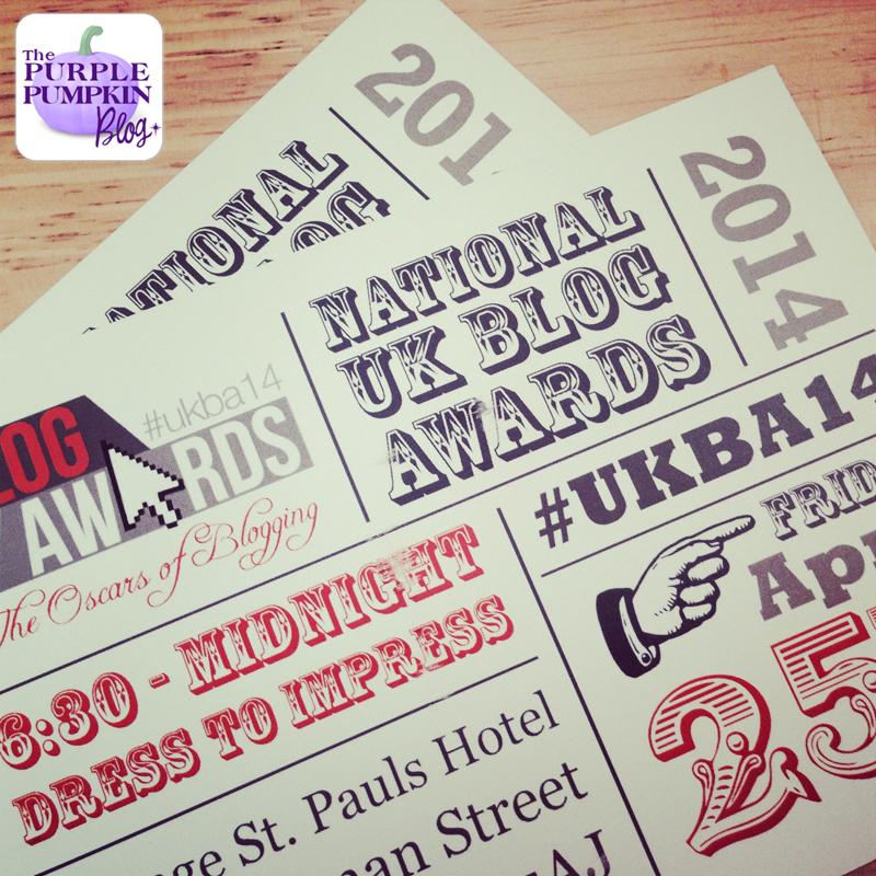 Today's The Day! UK Blog Awards 2014 #UKBA14