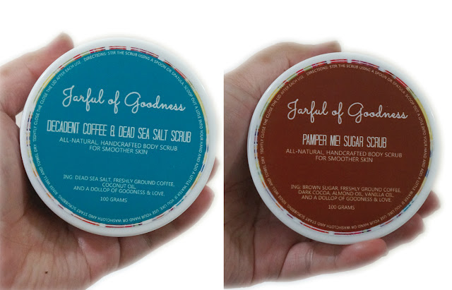 Jarful of Goodness: All-Natural Handcrafted Body Scrub | Decadent Coffee & Dead Sea Salt & Pamper Me! Sugar Scrub