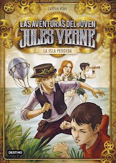 Resultado de imaxes para las aventuras del joven Jules verne