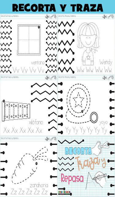 fichas-recortar-trazar-abecedario-preescolar