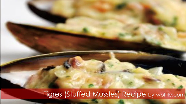 Tigres (Stuffed Mussels) Recipe #Spain #Seafood