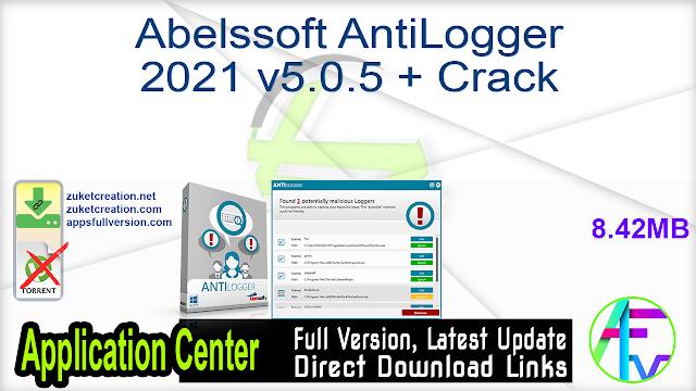 Abelssoft AntiLogger 2021 v5.0.5 + Crack