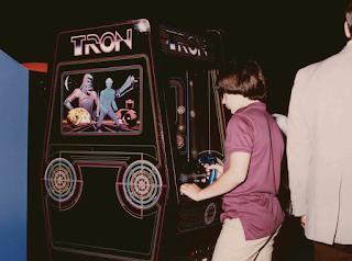 Arcade Tron - 1982